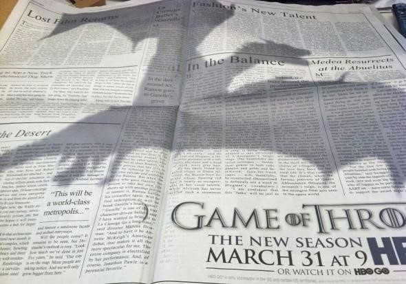 Shadow of the dragon on the New York Times