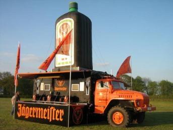 Jägermeister truck