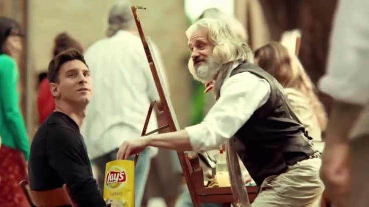 Messi Lays ad