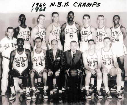 PA-Duryea-1960-61-Guarilia-Gene-NBA-Champs-No-20-with-Boston-Celtics-Team-Members