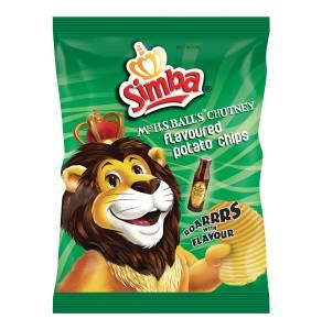 Simba chips - Chutney